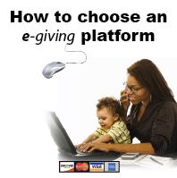 E giving for churches