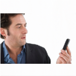 man holding slow mobile website