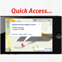 quick access maps